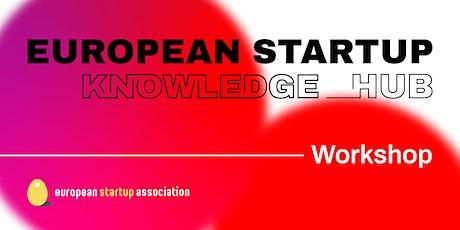 European Startup Workshop - Marketing tickets