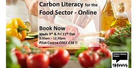 Carbon Literacy for the Food Sector tickets