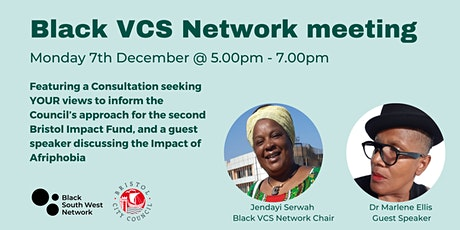 Black VCS Network meeting tickets