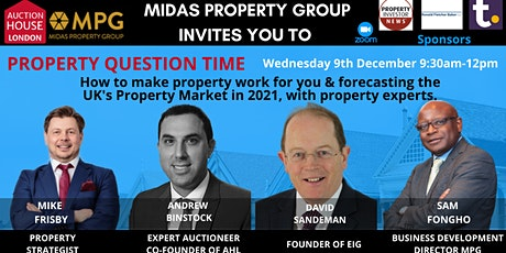 Midas Property Group Presents The Pre Auction Event Property Question Time tickets
