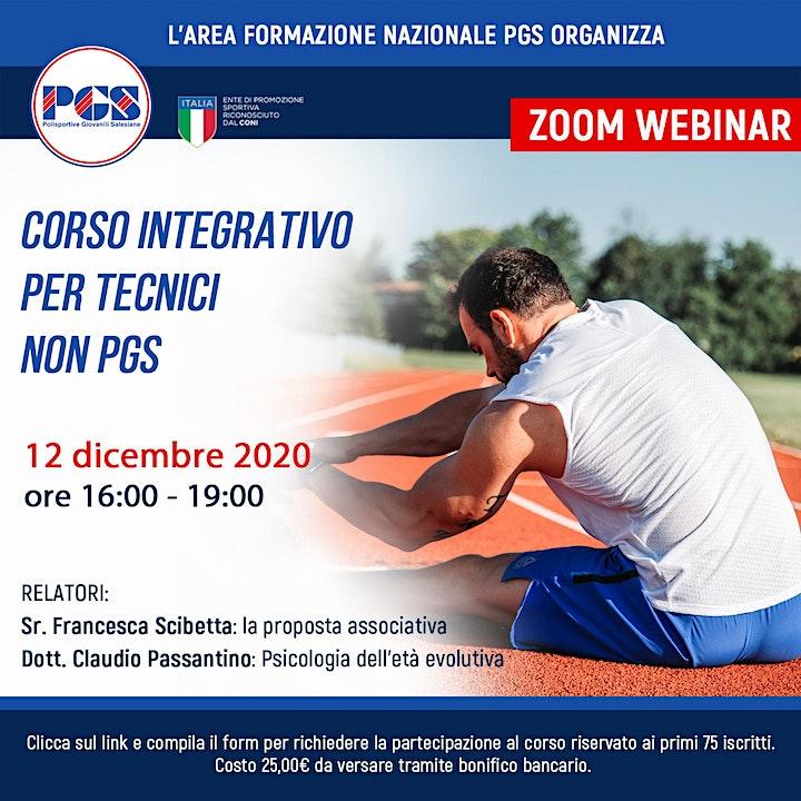 Immagine Corso integrativo per tecnici non PGS
