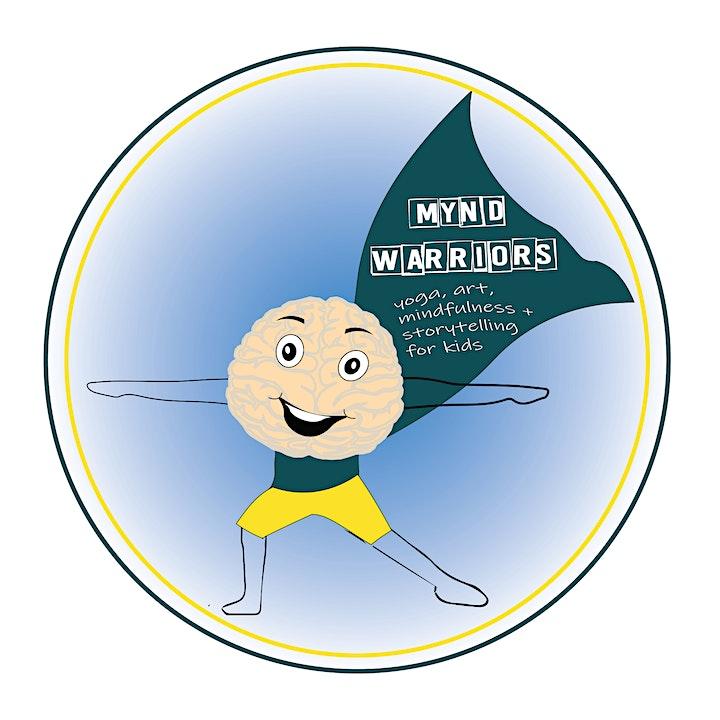 SCHOOL HOLIDAYS - MYND WARRIORS CLASS  (Children 3-10yrs) image