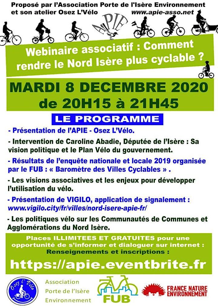 Image pour Webinaire : Comment rendre le Nord Isère Cyclable ?