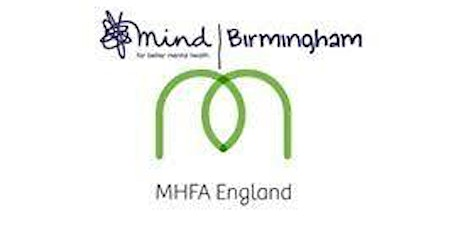 Online Mental Health First Aid Adult - Monday 1st March 2021 tickets
