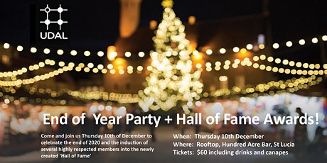 UDAL End of Year Party & Hall of Fame Awards tickets