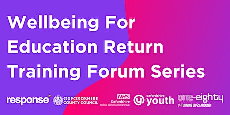 Wellbeing for Education Return Forum Series with Charlie Lewis - Pryde tickets