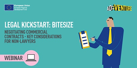 ONLINE -Legal Kick-Start BITESIZE: Negotiating Commercial Contracts tickets