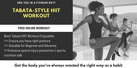 Tabata-Style HIIT Workout tickets