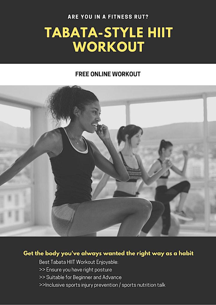 Tabata-Style HIIT Workout image
