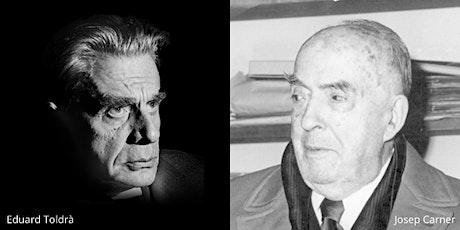 Concert homenatge a Eduard Toldrà i Josep Carner entradas