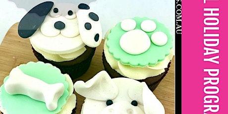 'I Love my Dog' Cupcake Cake Class School Holiday Programme tickets