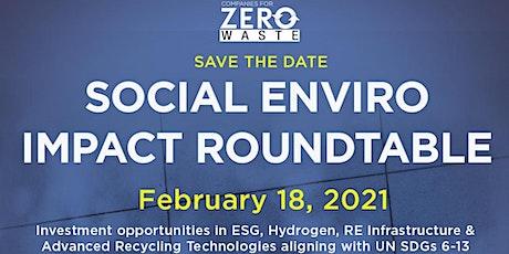 Social  Enviro Impact Roundtable tickets