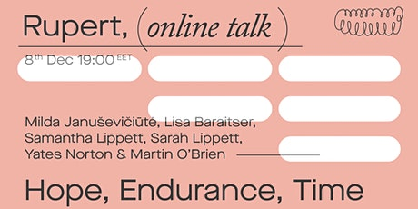 Online talk: Hope, Endurance, Time tickets