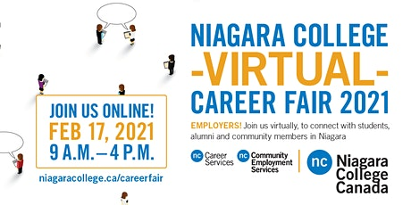 Niagara College Virtual Career Fair tickets