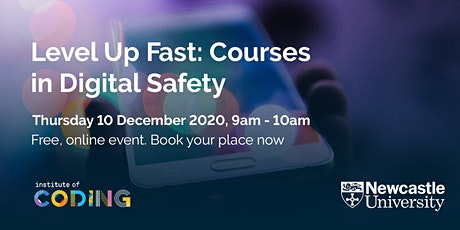Level Up Fast: Courses in Digital Safety tickets