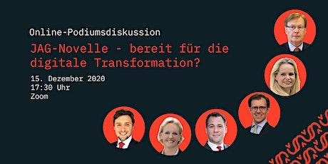JAG-Novelle - bereit für die digitale Transformation? Tickets