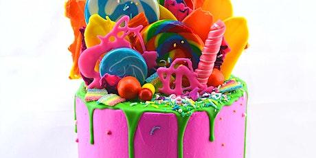 Colourful Drip Cake Class - 13 Mar 2021 tickets