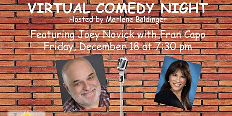 Comedy NIght with Joey Novick and Fran Capo tickets