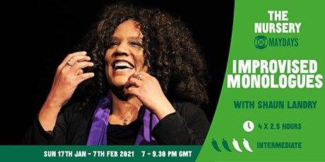 Online Improv Super-Elective: Improvised Monologues tickets