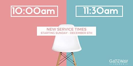 Sunday 11:30am Service tickets