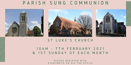 Parish Sung Communion tickets