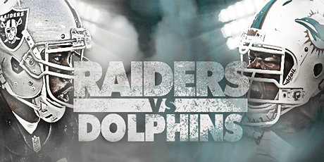 NFL Viewing Party: Las Vegas Raiders Vs. Miami Dolphins tickets