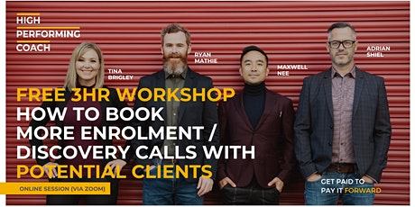 Book More Discovery Calls w/ Potential Coaching Clients  - Online Workshop tickets