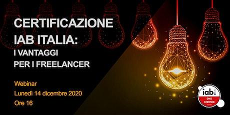 Certificazione IAB Italia: I vantaggi per i freelancer biglietti