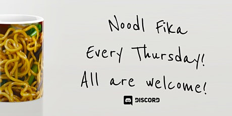 Noodl Community Fika tickets