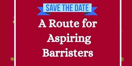 Road to the Bar Part 3: A Route for Aspiring Barristers tickets
