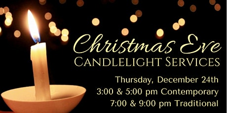3:00 pm Christmas Eve Worship Service tickets