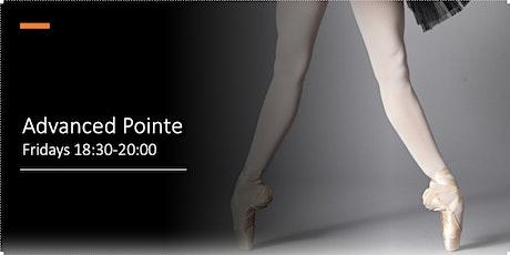 Advanced Pointe Fridays tickets