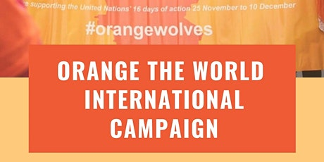 Orange the World! tickets