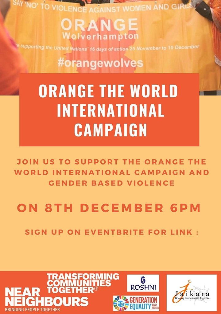 Orange the World! image