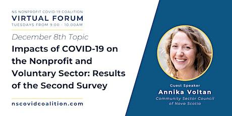 NS Nonprofit COVID Coalition: Virtual Forum tickets