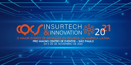 CQCS INSURTECH & INNOVATION  - 24  e 25 de Novembro de 2021 ingressos