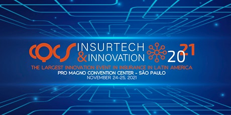 CQCS INSURTECH & INNOVATION  -  November, 24 - 25 , 2021. ingressos