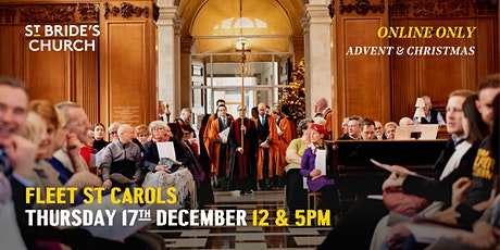 Fleet Street Carols - ONLINE ONLY tickets