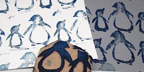 Online-Workshop | Druckwerkstatt für Kinder von 6 - 16 Jahren Tickets