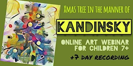 Wassily Kandinsky - Online Art Webinar for Kids 7+ tickets