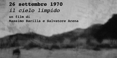 26 settembre 1970 - Il cielo limpido biglietti