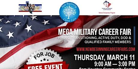Mega Extravaganza Military Career Fair tickets