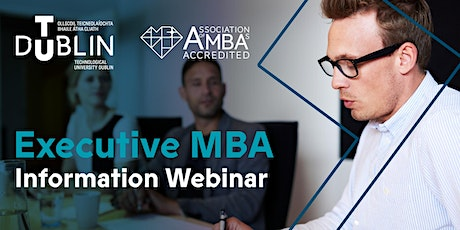 TU Dublin Executive MBA Information Webinar tickets