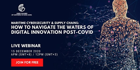 [Live Webinar] Maritime Cybersecurity & Supply Chain Digital Innovation tickets