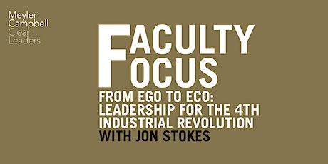 Faculty Focus: Ego to Eco with Jon Stokes tickets