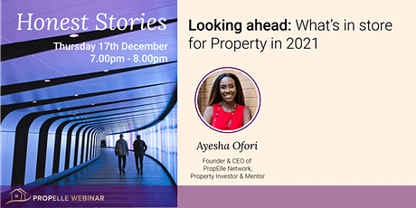 Honest Stories   What's in store for Property in 2021 tickets