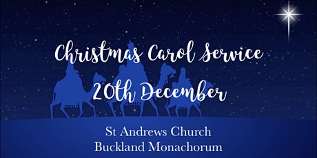 Buckland Monachorum Christmas Carol Services tickets