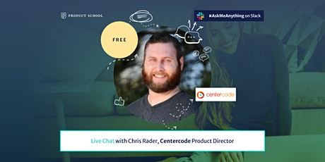 Live Chat with Centercode Product Director tickets