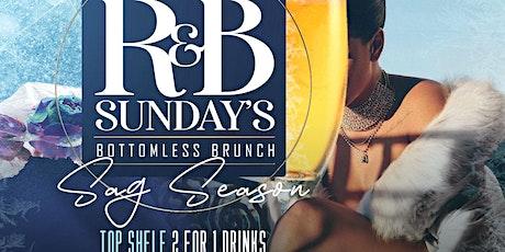 R&B SUNDAYS BOTTOMLESS BRUNCH AT TAJ tickets