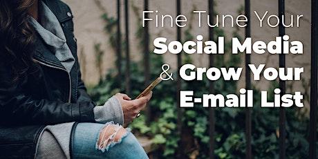 Fine Turn Your Social Media & Grow a Loyal Following tickets